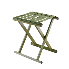 Outdoor Foldable Camping Chair  Military Portable Folding Fishing High Quality Aluminum Alloy 200kg Pressure