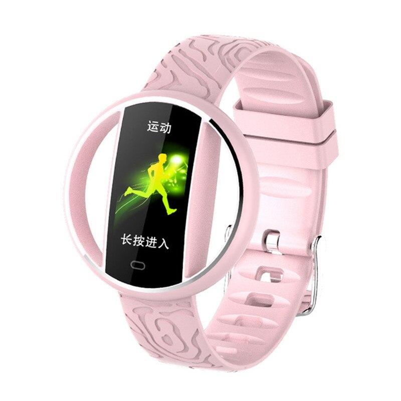 Nouveau Bracelet de montre intelligent Bracelet fréquence cardiaque moniteur de sommeil Fitness Tracker poignet Sport étanche Bracelet téléphone pour Smartphone - 2