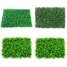 40x60cm Grass Mat Green Artificial Plant Lawns Landscape Carpet for Home Garden Wall Decoration Fake Grass Party Wedding Supply(China)