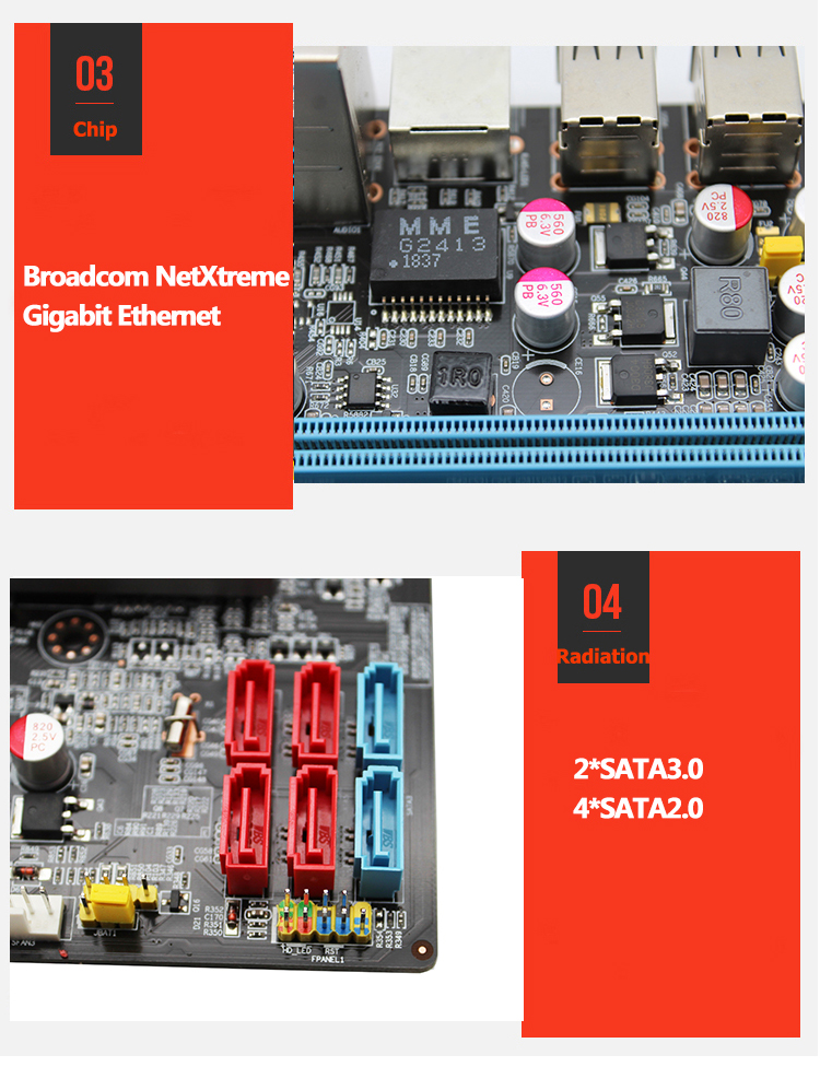 X79 LGA 2011 motherboard ATX SATA3 USB3.0 Dual PCI-E16X M.2 NVME SSD support Four channels DDR3 Xeon E5 2.4F 1620V2 2670 2680v2 5