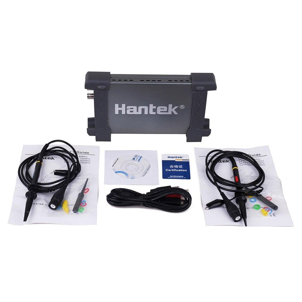 Портативный осциллограф 2 канала 20 МГц 6022be