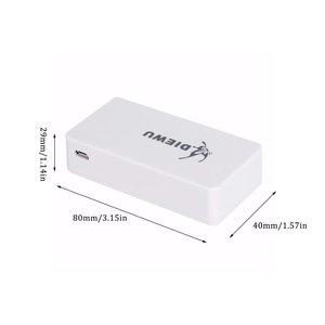 5 портов, быстрый Ethernet RJ45 10/100 Мбит/с, сетевой коммутатор, концентратор, настольный ноутбук, портативный дорожный сетевой концентратор, питание от Micro USB