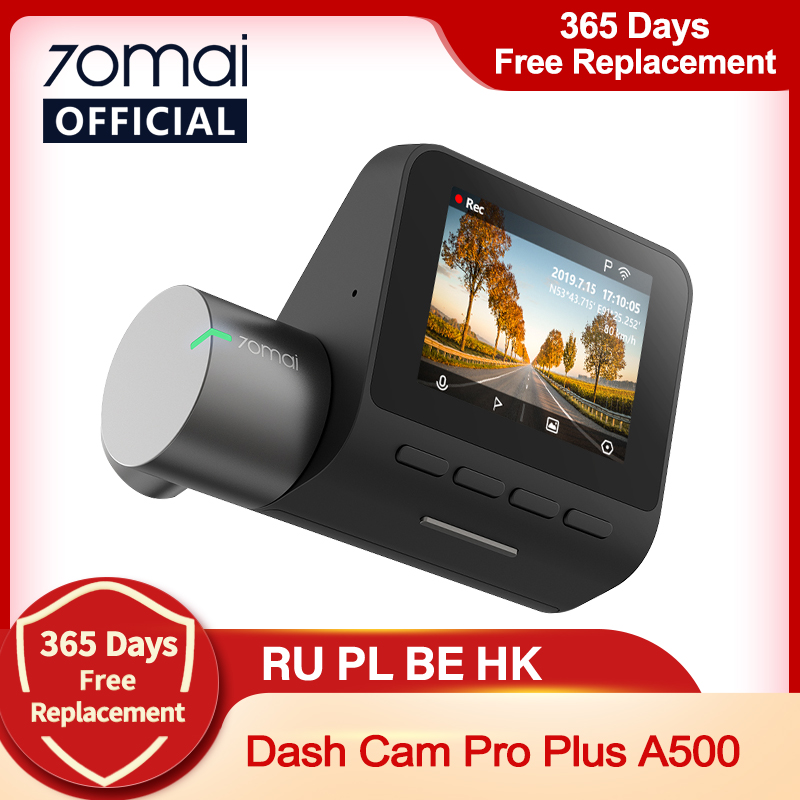 70mai Dash Cam Pro Скорость N координаты 1944P ADAS автомобиля Камера 70MAI Pro 70mai Pro Plus A500S Видеорегистраторы для автомобилей 70 mai 140FOV
