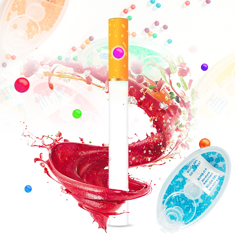 100PCS/Box Cigarette Filter Capsule Portable DIY Blast Beads Fruit Mint Flavor Pops Beads Cigarette Holder Smoking Accessories