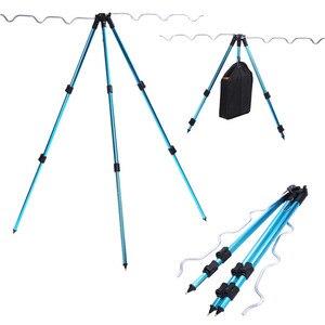 Image 4 - Staffa per treppiede Sougayilang supporto per treppiede da pesca telescopico in lega di alluminio staffa per pesca notturna staffa per canna da pesca