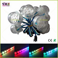 500pcs WS2811 RGB pixels LED Tape StringModule lampada Neon led waterproof IP65 DC12V 36mm 6 LEDs Transparent Cover SMD5050