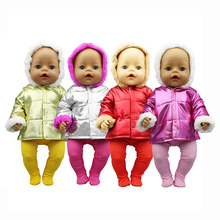 Doll Leggings Down-Jacket Reborn Accessories Cloth Baby Fit-For 18inch/43cm New
