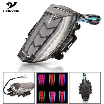 Motorcycle LED Tail Light Running Stop Brake Rear Warning Signal Indicator Lamp For YAMAHA YZF R15 YZF-R15 V3 2017-2020 2019 18