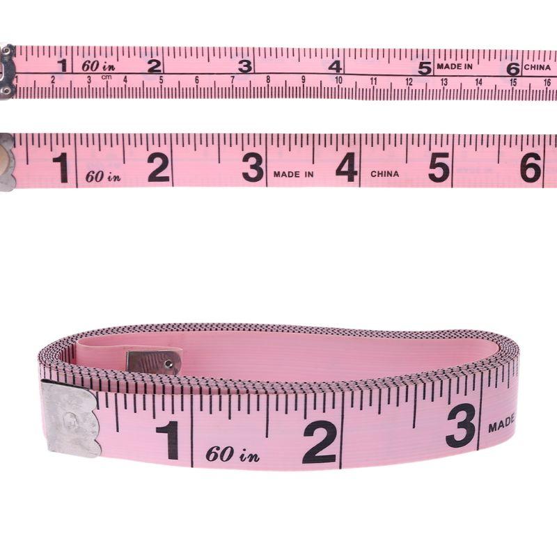 Виниловая лента Размером 150 см, 60 дюймов, соответствует размеру одежды, измерительная линейка, обхват груди, бедер, талии, стандартная лента ...