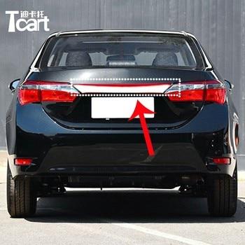 Tcart For Toyota corolla 2018 2019 Rear Bumper trunk Tail Light Reflector Flashing Moving Turn Signal Driving Fog Brake Lamp