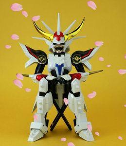 DATONG модель Ronin Warriors йероиден самурайский солдат Рё Броня Inferno металлическая ткань Броня плюс