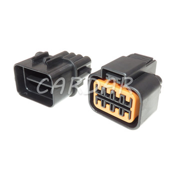 1 Set 8 Pin PB625-08027 PB621-08020 Auto Vehicle Wire Plug Automotive Connector Lamp Headlight Socket For Audi BMW Ford image