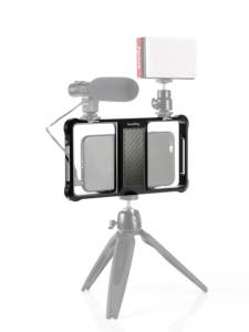 Image 5 - Smallrig Standaard Universele Mobiele Telefoon Kooi Vloggers Video Schieten Telefoon Kooi Accessoires Met Koud Shoe Mount  2391