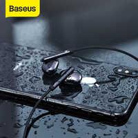 Baseus s30 bluetooth fone de ouvido sem fio leve esporte fones ipx5 à prova d3d água 3d estéreo baixo com microfone hd para o telefone