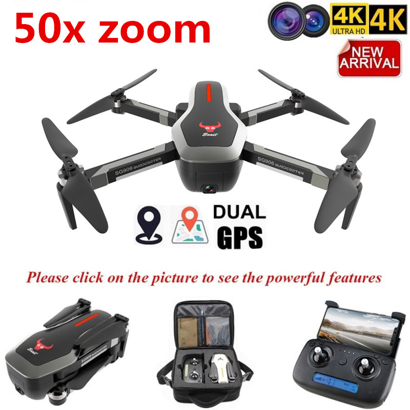 New SG906 Dual GPS Drone 5G WIFI FPV With Selfie Foldable 4K HD Camera RC Drone