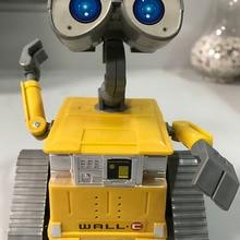 11,5 см робот стена E игрушки для детей WALL-E подарок на день рождения Робот Танк экскаватор Pixar свободная фигурка подвижная игрушка