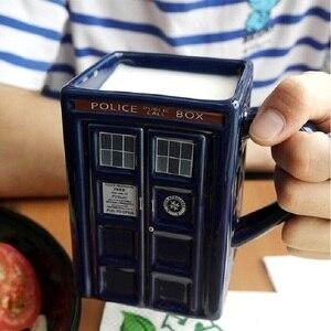 Image 5 - Taza de tazón Taza de cerámica con tapa para taza de té y café, regalo creativo divertido, regalos de Navidad para niños