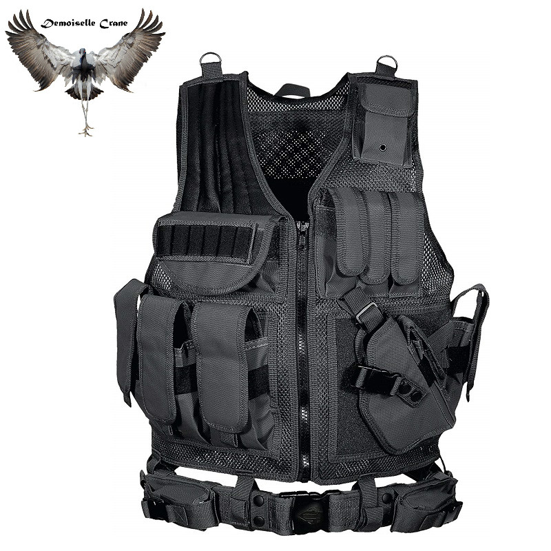 FX Law Enforcement Tactical Vest Multi-pocket SWAT Army CS Hunting Vest Camping Hiking Accessories охота жилет мужской