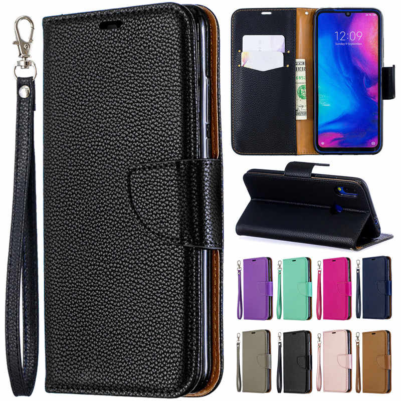 Xiaomi Redmi Note 7 Case on for Coque Xiomi Xiaomi Redmi 6 7 6Pro Note 7 Pro Cover Luxury Book Flip Leather Wallet Phone Cases
