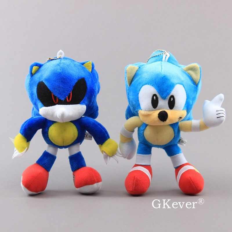 8 20 Cm Cartoon Anime Hedgehog Plush Doll Toys Soft Stuffed Animals Keychain Kawaii Blue Animals Doll Toys Children Kids Gift Aliexpress
