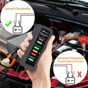 Image 4 - Remvloeistof Tester Mini 5LED Indicator DOT3 DOT4 Digitale Testen Auto Dynamo Detector BM310 12V Batterij Tester Automotive
