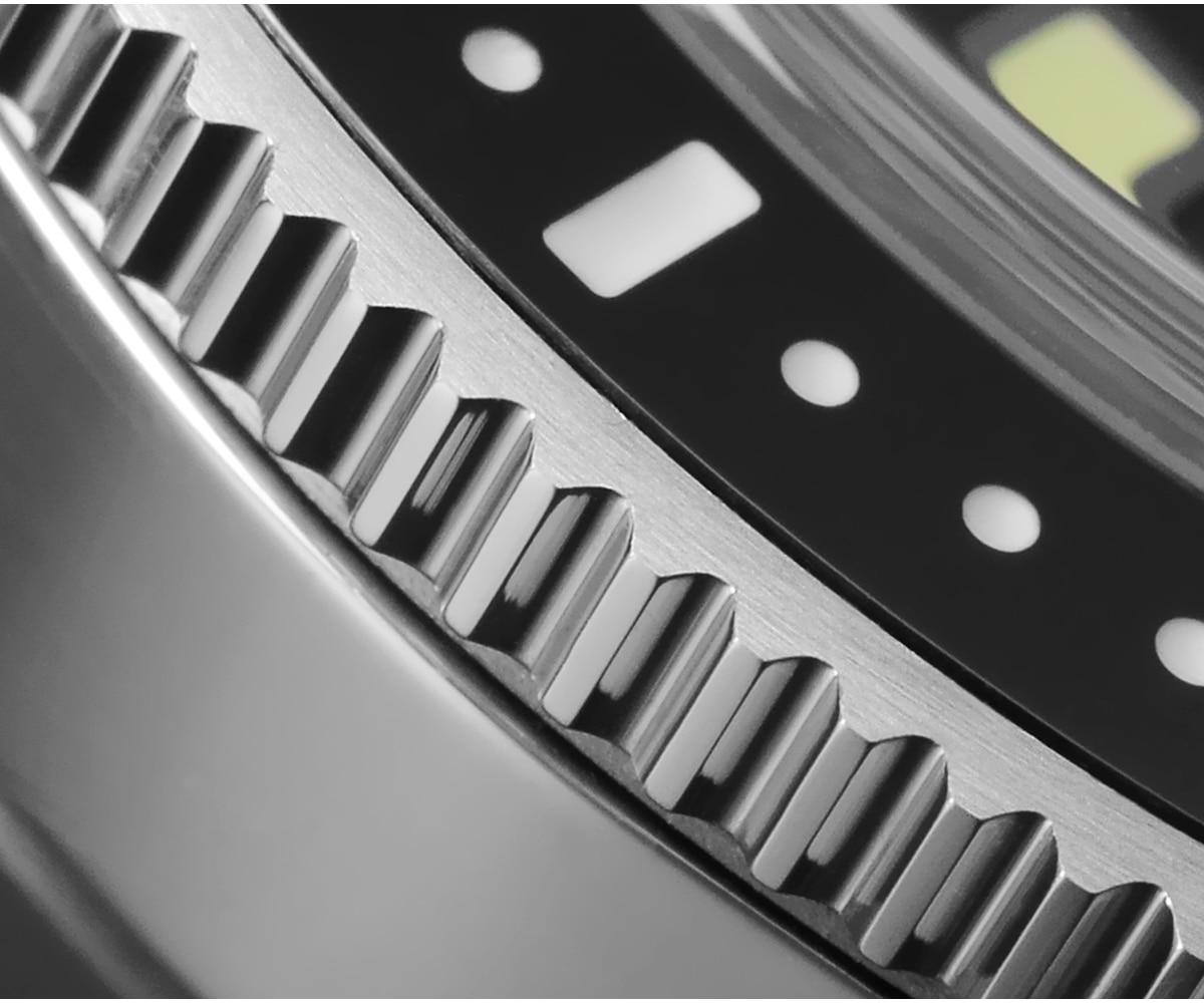 automático men relógios safira 200m à prova