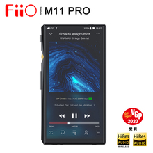 FIIO M11 פרו סמסונג Exynos 7872 אנדרואיד 7.0 Bluetooth Protable מוסיקה נגן MP3 AK4497EQ ביצועים גבוהים Audiophile DAC DSD256