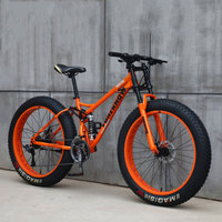 Bicycle Speed Off Road Beach Snowmobile Adult Super Wide Tire Mountain Bike Men and Women Bicycle Students