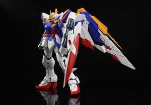 Image 3 - BANDAI MG 1/100 Model Wing Gundam Ver. Ka Kaart Versie Vliegende Vleugel Gemonteerd Tot Action Toy Figures