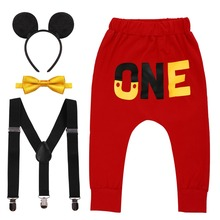 Get more info on the Baby Clothing Cute Mickey Mouse Cosplay Outfit for 1st Birthday Party Smash The Cake Baby Boy & Girl Clothes Photography Props