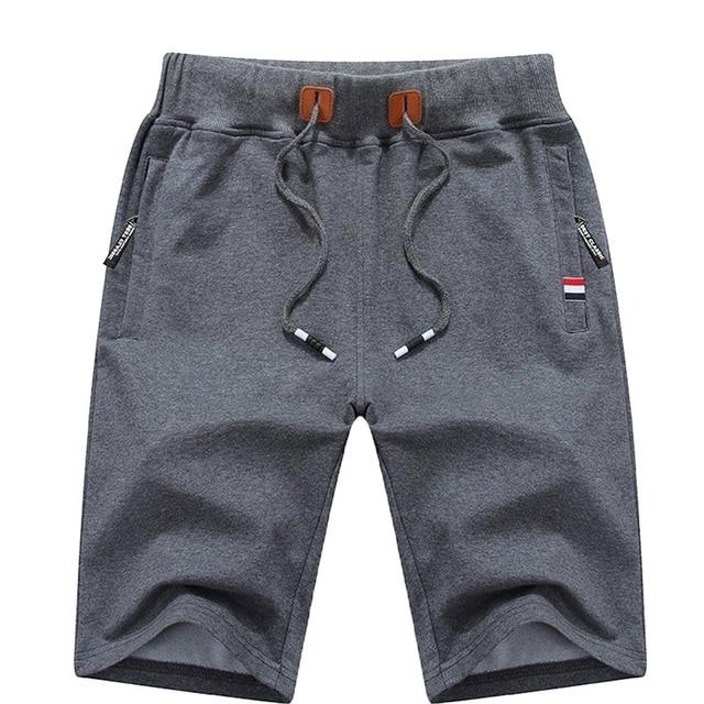 Men's Summer Breeches Shorts 2021 Cotton Casual Bermudas Black Men Boardshorts Homme Classic Brand Clothing Beach Shorts Male 3