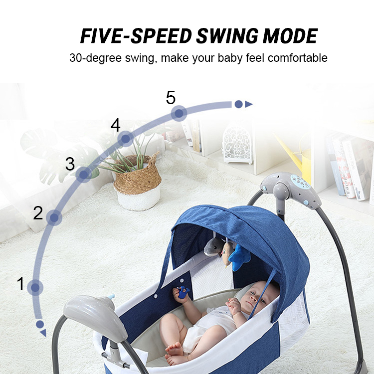 H5bc9787452074b5199ad5c71bd2ae0abe Bluetooth Control Swing Baby Rocking Chair Electric Baby Cradle Remote Control Cradle Rocking Chair For Newborns Swing Chair