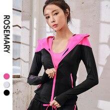 Clothing Jacket Hooded Quick-Coat Long-Sleeve Zipper Autumn Women Ladies Training Fitness
