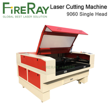 FireRay Co2 Laser Engraver Machine 9060 80W 100W Tube RDC6445G Controller Cutting DSP System Chiller