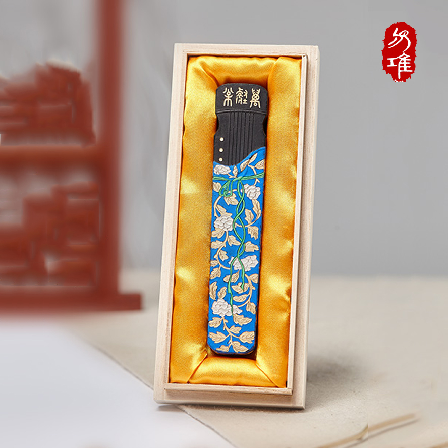 Traditional ink bar Chinese Inker Sticks for Painting Calligraphy Piano Shape Writing Materials Stationery