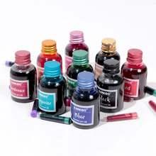 Цветная чернильная ручка в бутылке 30 мл чернила для заправки