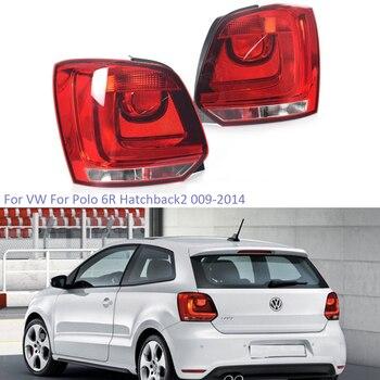 YTCLIN Tail Light for VW Polo 6R Hatchback 2009-2013 Rear Brake Light Stop Light Reversing Light Tail Lamp Car Styling