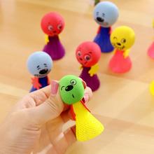Skacząca zabawka dla kota zabawka dla kota zabawka dla kota zabawka dla kotów odbijająca się zabawka losowe kolory i style tanie tanio Piłki Gąbka
