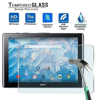 For Acer Iconia One 10 B3-A40FHD -Premium Tablet 9H Tempered Glass Screen Protector Film Guard Cover - discount item  56% OFF Tablet Accessories