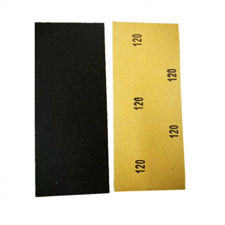 Amazon Hot Selling 9X3.6 Inch Waterproof Abrasive Paper CW120-7000 # Zhang Page Sand Polishing Manufacturers