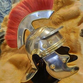 Casco centurión romano usable animado casco gol Tipo G cascos romanos optio máscara cosplay