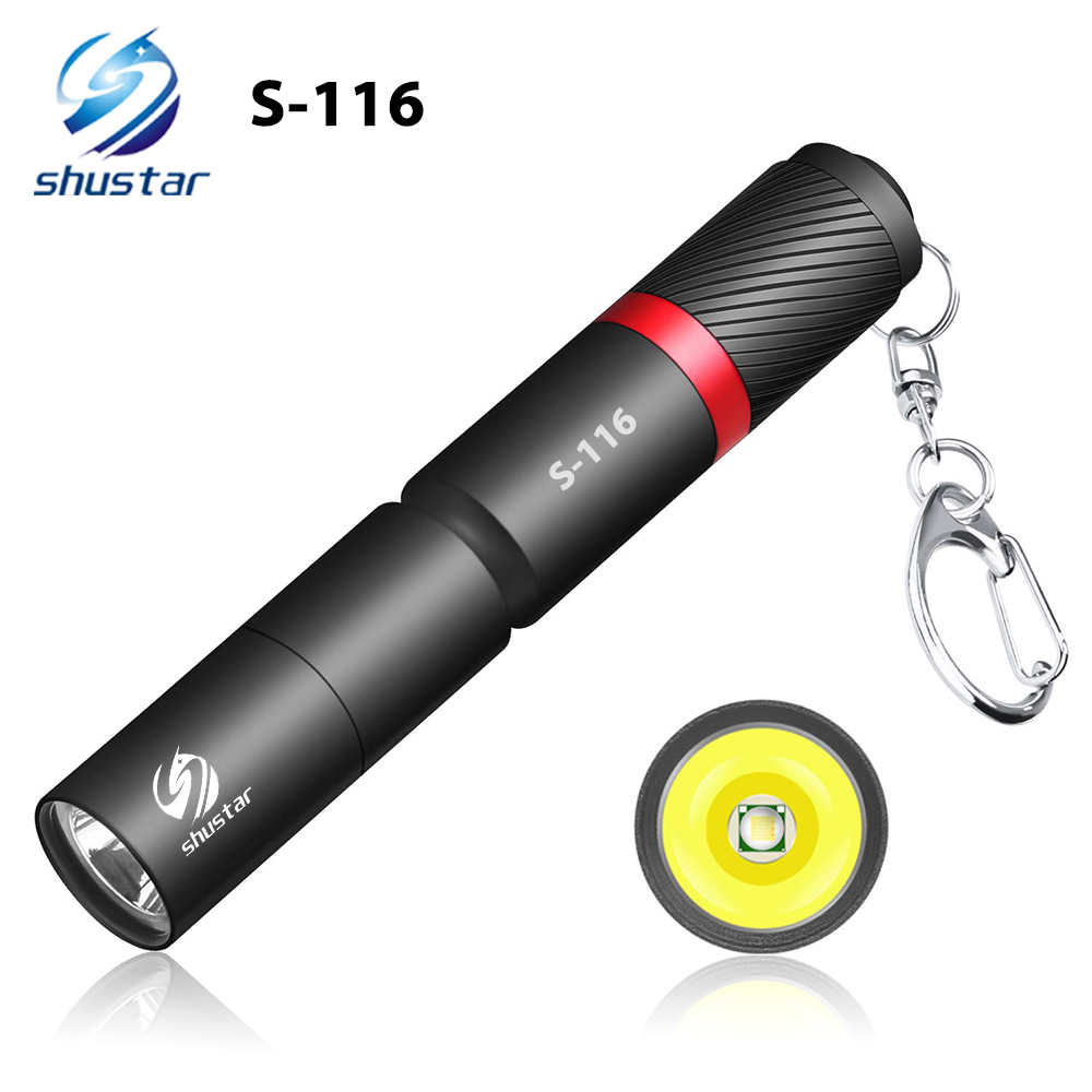 Ultra Small LED Flashlight With Premium XPE Lamp Beads IP67 Waterproof Pen Light Portable Light For Emergency, Camping, Outdoor