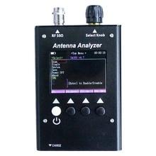 0.5-60MHz Antenna Analyzer Color Graphic Frequency Tester BNC Connector Two Way Radio Testing Ham ZRX V.S.W.R. Digital LCD TFT цены онлайн