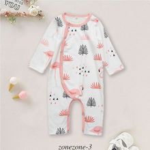 Get more info on the Toddler Logn Sleeve Rompers Autumn Spring Infant Unisex Baby Kid Cotton Flamingo Pajamas Sleepwear Night  One-Pieces Clothes