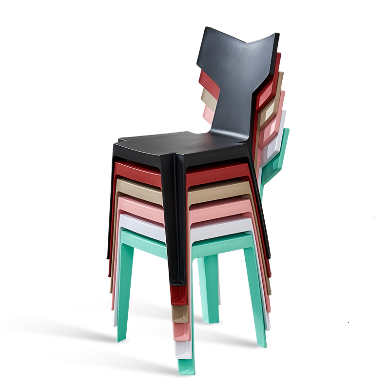 Modern Simplicity Household Backrest Stool Lazy People Europe Originality Fish Tail Nordic Furniture Dining Chairs Dining Chair