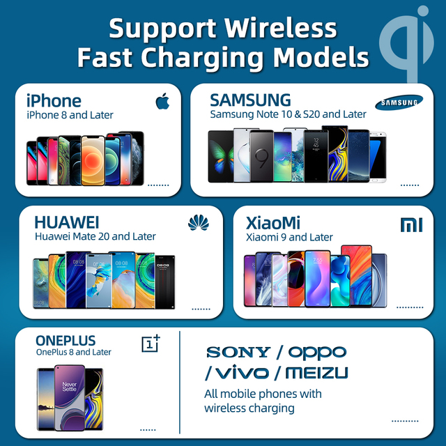 Magnetic Wireless Charging For iPhone 12 Pro Max Mini 15W Fast Charger For iPhone 11 XS X Wireless Charger For Huawei Xiaomi Qi 6
