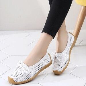 Women Shoes Genuine Leather Fl