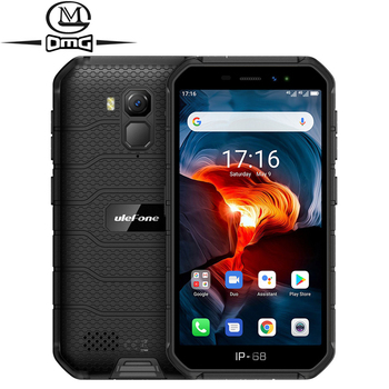 Перейти на Алиэкспресс и купить Ударопрочный смартфон Ulefone Armor X7 Pro NFC, Android 10, IP69K, IP68, 4 Гб + 32 ГБ, GPS, 4000 мАч, 4G