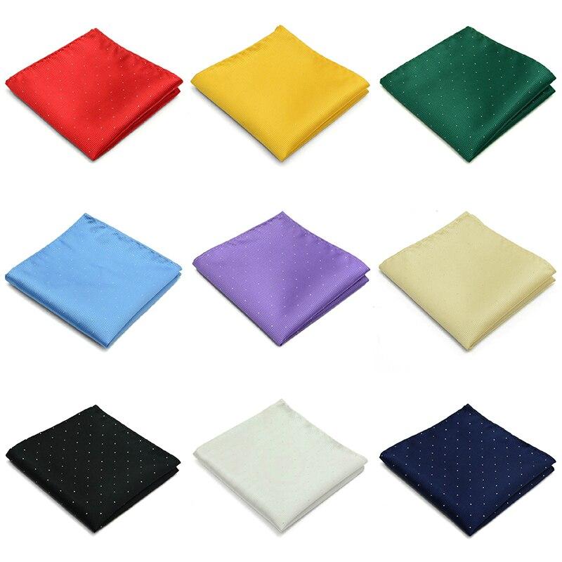 1PC 22*22cm Men's Suit Pocket Towel Suit Chest Towel Handkerchief Business Wedding Party Polyester Printed Small Square Towel