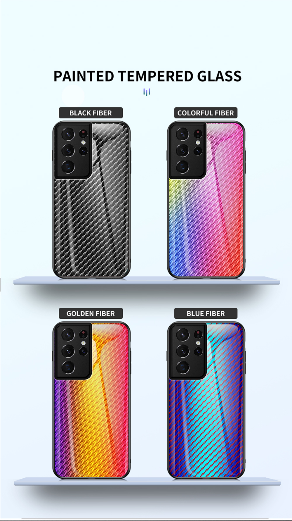 Galaxy S21 Ultra Carbon Fiber Case 1